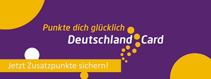 Deutschland Card Zusatzpunkte